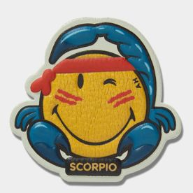 Stickers-Zodiac-Scorpio-Wink-in-Mustard-Capra-1
