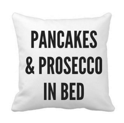 Pancakes & Prosecco Cushion Cover