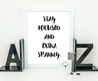 Stay Sparkly Wall Art