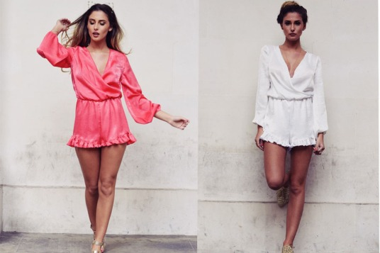 Frill Playsuit